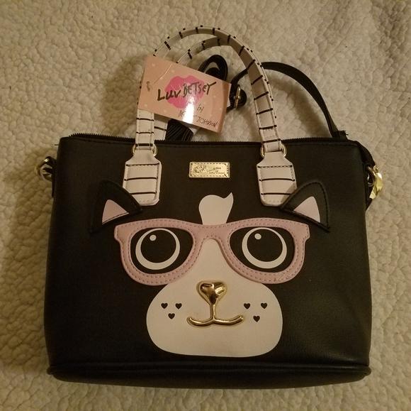 Handbags - NWT Betsey Johnson Cat Purse